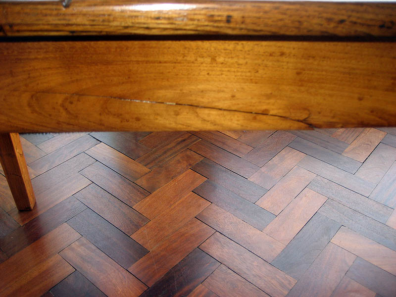 French Harvest Table repair 1