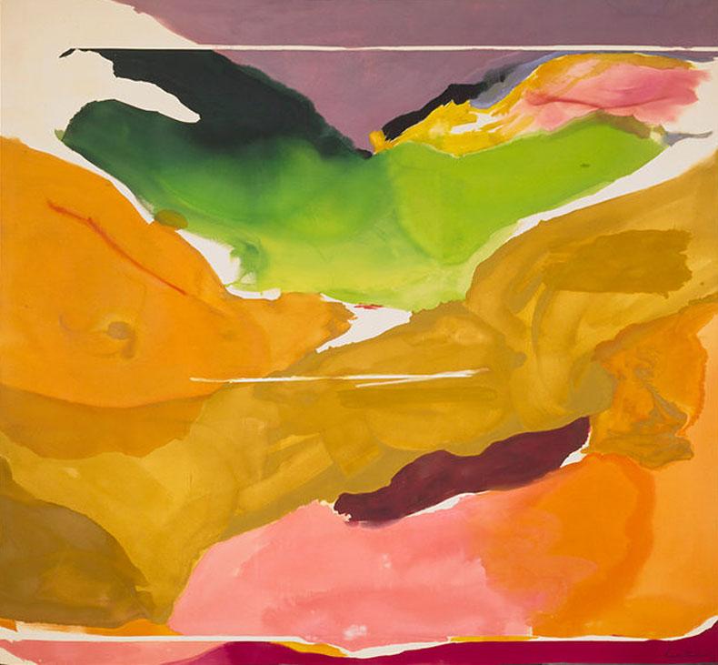 Helen-Frankenthaler, Nature Abhors a Vacuum, National Gallery of Art Washington
