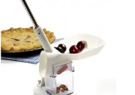chute and plunger cherry pitter