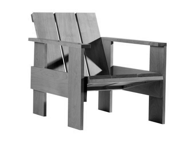 Adirondack + Rietveld Chairs, for Outside or In, to DIY or ...