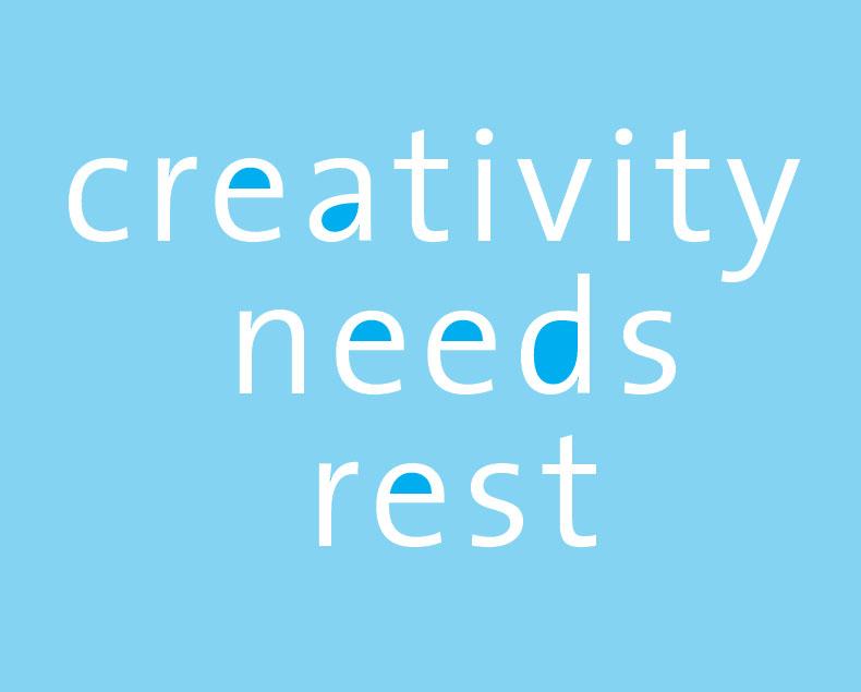 creativity needs rest unlocked