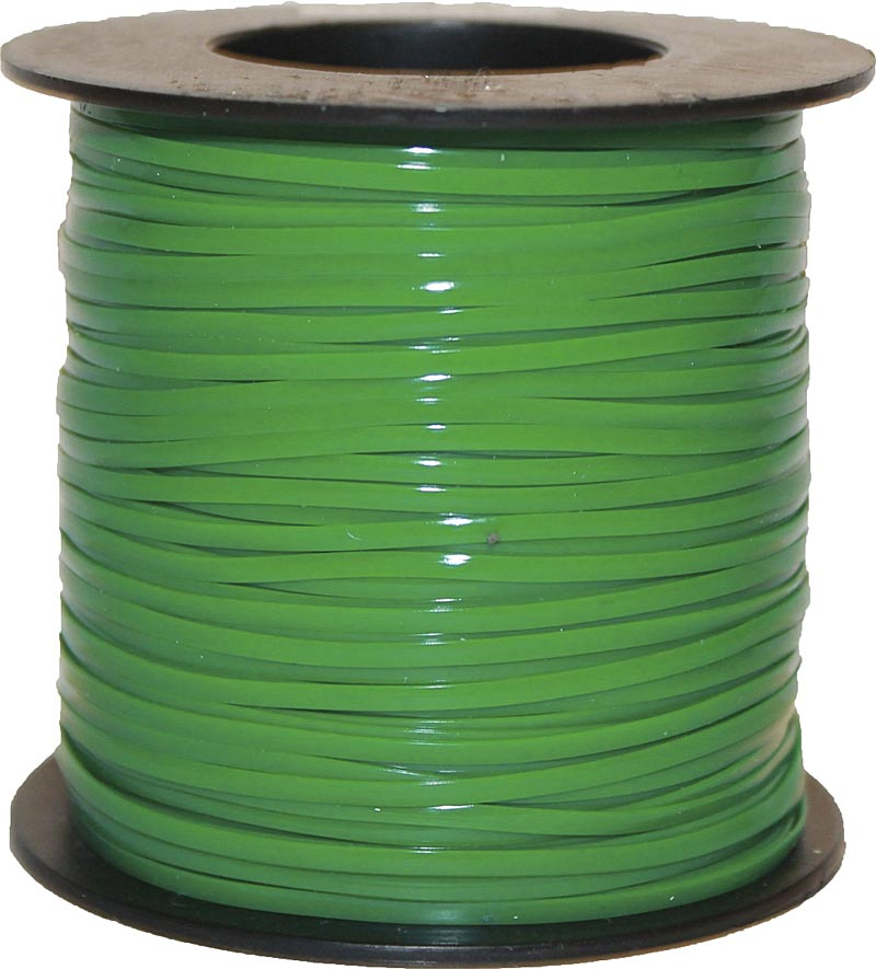 plastic lanyard lace green