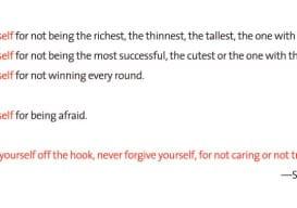 Forgive Yourself Seth Godin