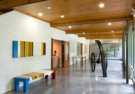 Penland's gallery, which features work from resident artists and alumni