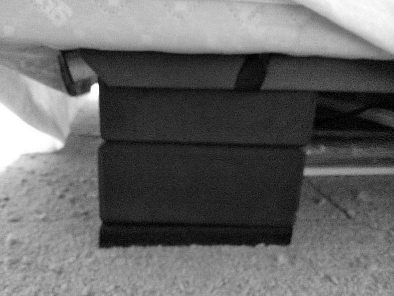 bed fix 2 rubber blocks