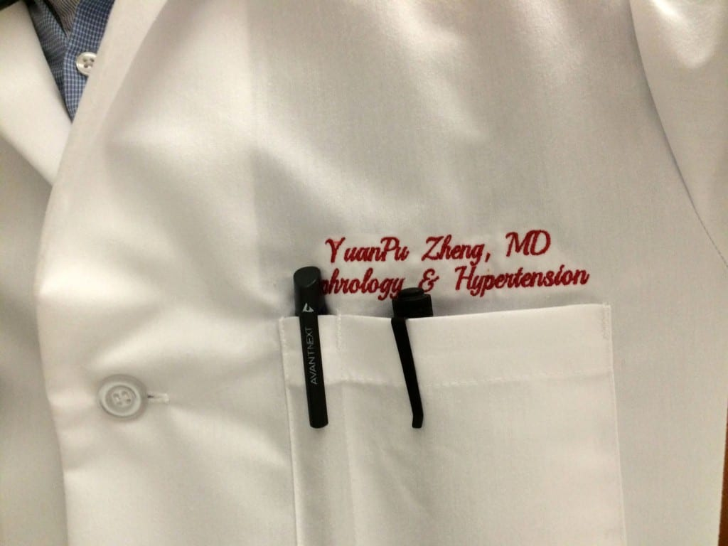 doctor name tag