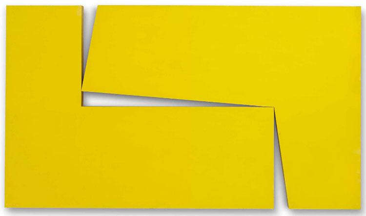 yellow painting Carmen Herrera
