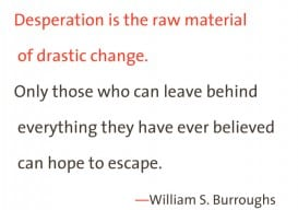 Desperation 2 tone William S Burroughs
