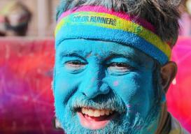 Loose Pigment blue man 5k