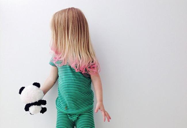 Loose Pigments hair chalk child