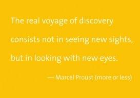 New eyes Marcel Proust