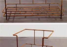 Jorge Pardo, Le Corbusier Sofa and Le Corbusier Chair, 1990