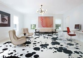 dalmation painted floors