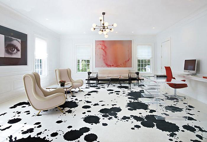 dalmation painted floors