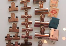 vintage binder clips Etsy