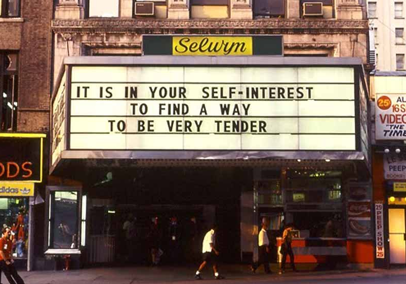 [Image: find-a-way-to-be-very-tender-Jenny-Holzer.png]