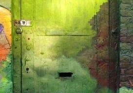 green door Brooklyn Anahi DeCanio  ArtyZen Studios
