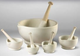 MiltonBrook mortar and pestle sizes