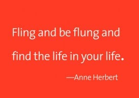 Fling + be flung Anne Herbert 2