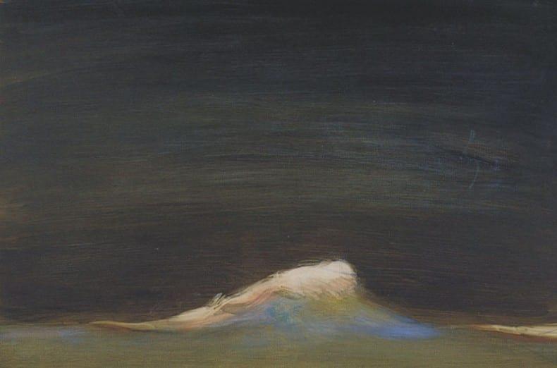 """Susan Hall, """"A Single Wave"""""""