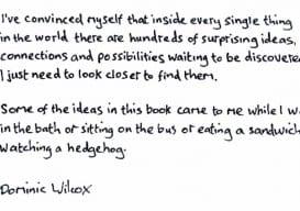 Dominic Wilcox quote