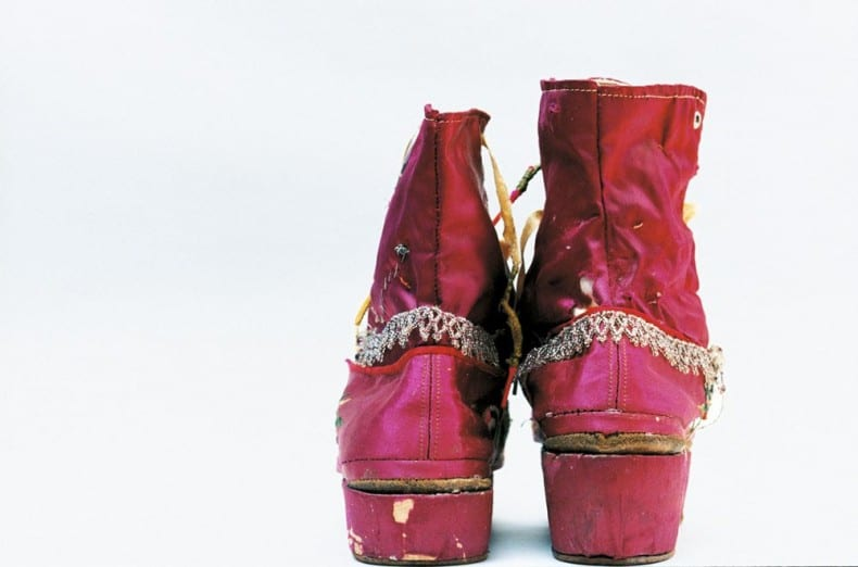 Frida's shoes Ishiuchi Miyako, courtesy of Michael Hoppen Gallery