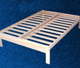 Solid Wood Platform Frame