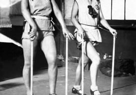 Women working out in the 1920's