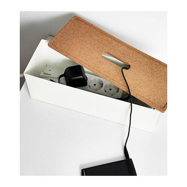 Ikea kvissle-cable-management-box 2 L