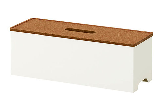 Ikea kvissle-cable-management-box-white__0136818_PE294708_S4