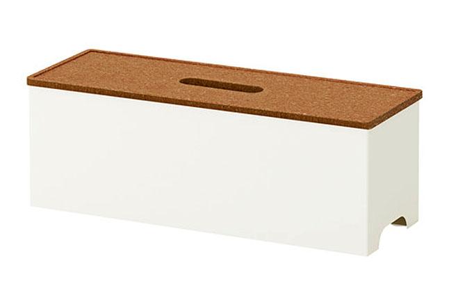 Ikea kvissle-cable-management-box-white__0136818_PE294708_S4