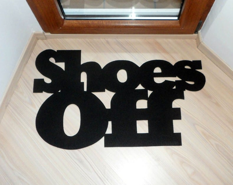 Shoes off 3