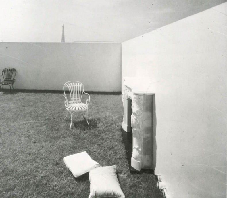 Le Corbousier garden for de-beistegui-socks-studio.com
