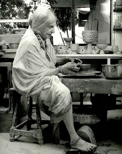 Beatrice Wood working 2
