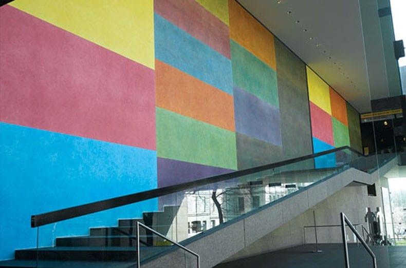 LeWitt wall painting 450 Carnegie Museum 1