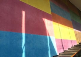 LeWitt wall painting 450 Carnegie Museum