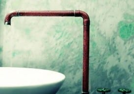 fatso copper tub faucet