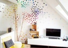 paint chip wall random