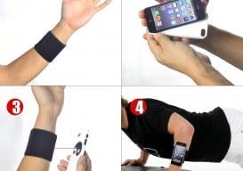 velcro phone holder Amazon 1
