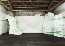 damien-gilly- tape optical-illusion designboom
