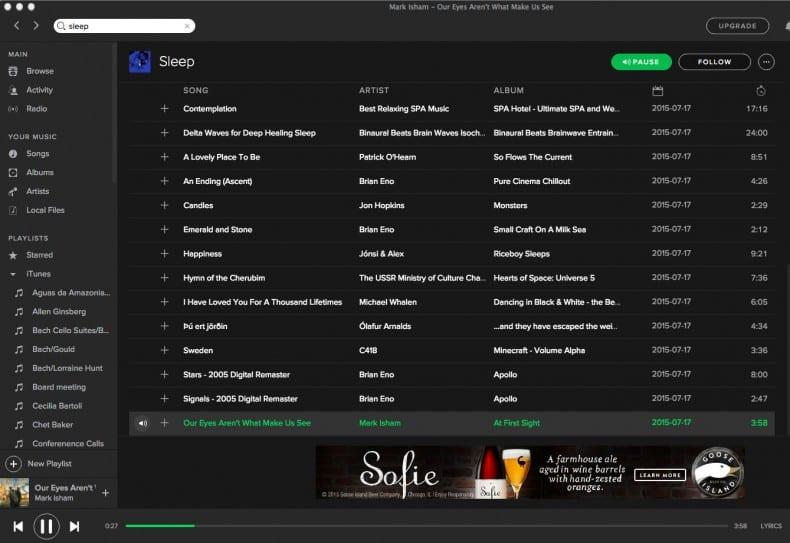spotify screen