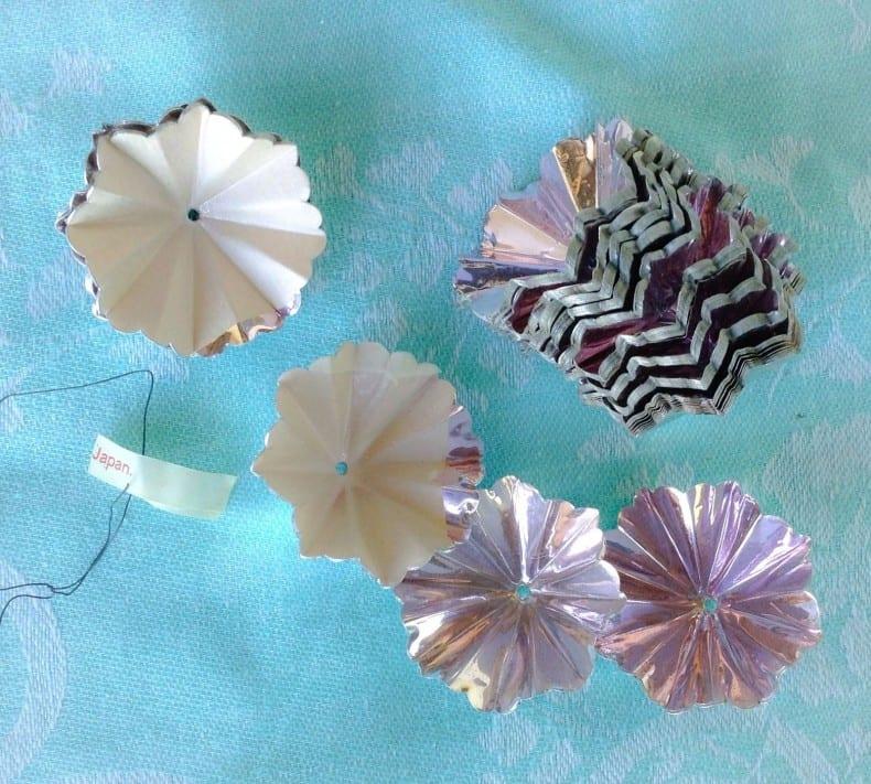 pom pom vintage Japanese garland ebay