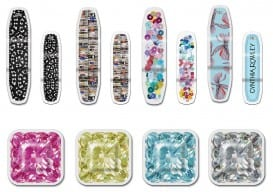 """BAND-AID(R) Brand Adhesive Bandages partners with renowned designer Cynthia Rowley to launch limited-edition """"Dress-Up"""" Adhesive Bandages.  (PRNewsFoto/BAND-AID(R) Brand Adhesive Bandages)"""