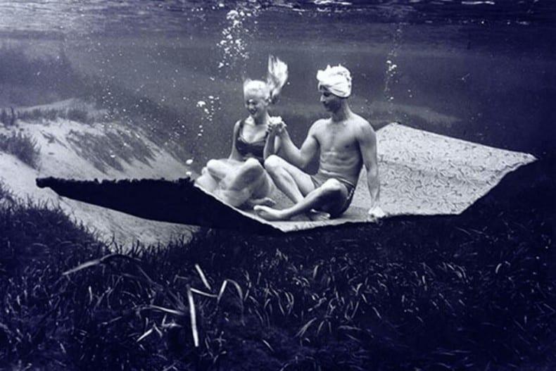 magic carpet underwater