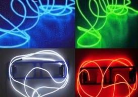 neon EL wire