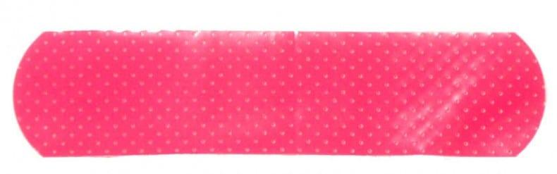 pink bandaid