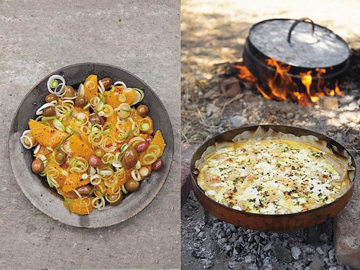 Aglaia Kremezi dishes