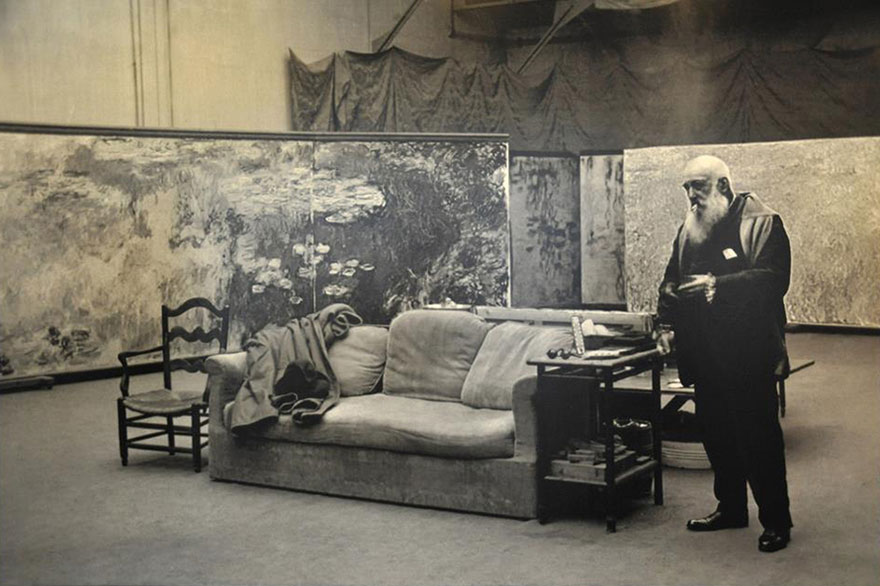Claude Monet studio