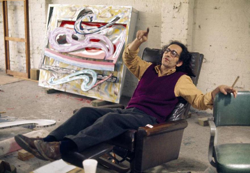 Frank Stella studio recliner