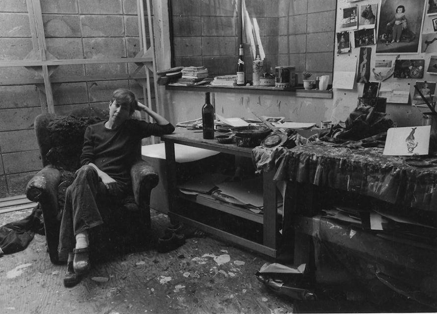 Joan Brown Studio chair